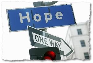 hope sign original