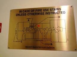 Hotel Fire Exit Plan